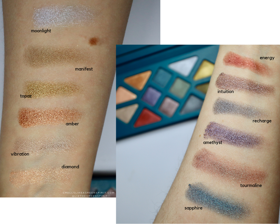Aether Beauty swatches