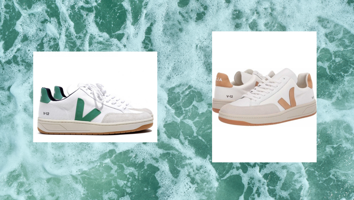 veja shoes, recycled plastic