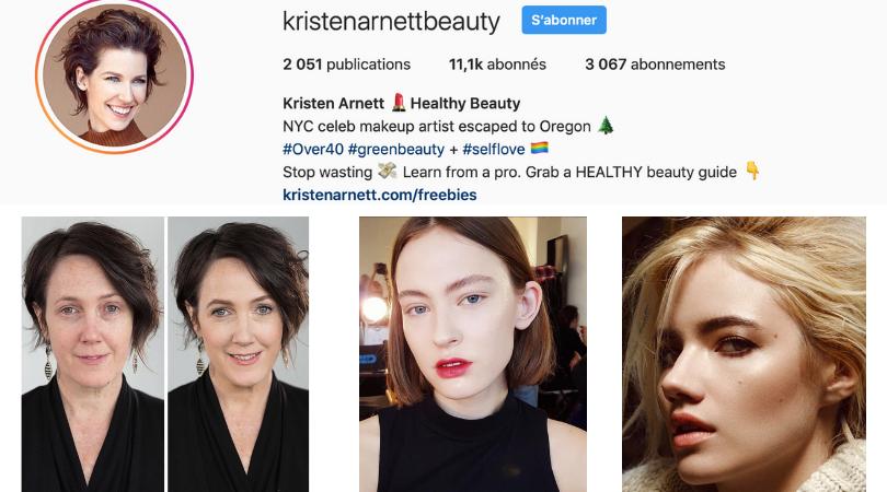makeup artist kristen arnett