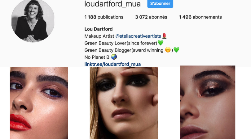 makeup artist Lou dartford