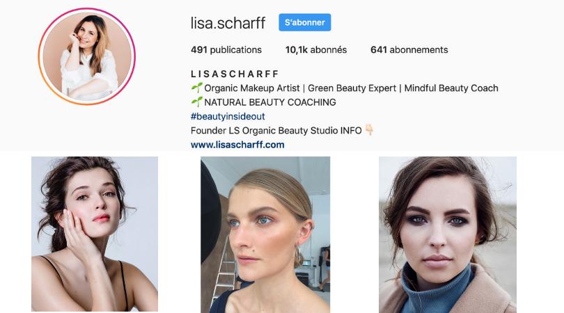 makeup artist Lisa Scharff