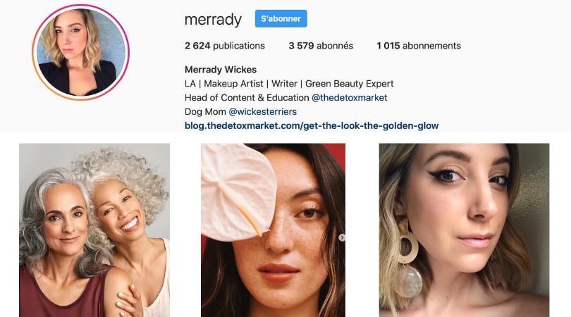 makeup artist Merrady Wickes